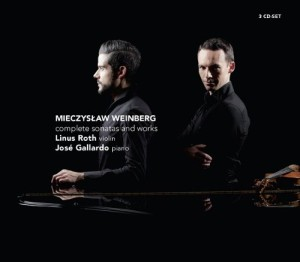 Mieczyslaw Weinberg: Complete Sonatas and Works (Challenge Classics  CC 72567)
